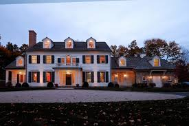 classic greek revival home new canaan ct