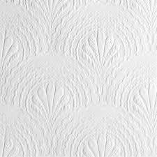 Paintable Textured Wallpaper by Anaglypta Natureboss Baobab Textured Paintable Wallpaper White