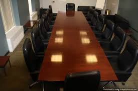 Rectangular Conference Table Used Office Conference Tables 20 Foot Cherry Rectangular