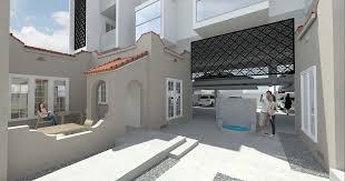 melrose bungalow court conversion new renderings details curbed la