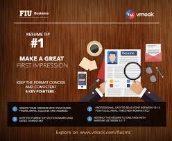 Margins On Resume Students Vmock Smart Career Platform Fiu Business