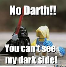 Funny Lego Memes - darth vader on date by brickmeme meme center