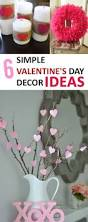 Ideas To Decorate For Valentine S Day by 6 Simple Valentine U0027s Day Decor Ideas Holidays Craft And