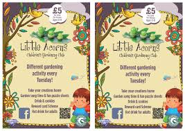 Garden Centre Grosvenor Garden Centre Little Acorns Children U0027s Gardening Club