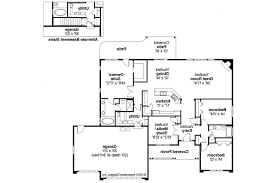 Floor Plans Ranch Homes by Ranch House Plans Fieldstone 30 607 Associated Designs