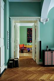 hallway in dix blue no 82 and woodwork in pointing no 2003