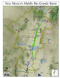 Map Of Albuquerque New Mexico by Rio Grande River Basin U0026 Compacts Nm Interstate Stream Commission