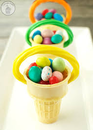 easter baskets cone easter baskets