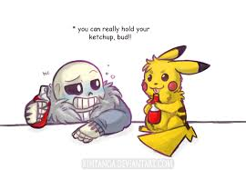 Undertale Pokemon Best Drinking Buddy By Kintanga On Deviantart