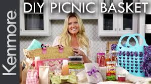picnic basket ideas diy picnic basket 4 easy picnic basket ideas kenmore