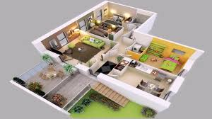 4 bedroom floor plans 2 story 4 bedroom house plans 2 story 3d youtube