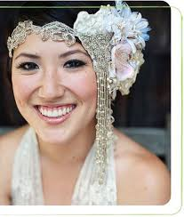 bridal headwear gorgeous gatsby inspired bridal headwear happiness is