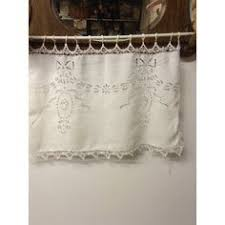 Kitchen Curtains Pottery Barn by French Stripe Cafe Curtain Traditional Curtains Pottery Barn