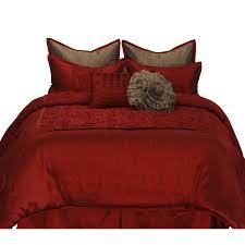 Maroon Comforter Shop Stratford Park Granville 8 Piece Red Queen Comforter Set At