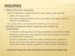 identify types of business letters two categories business