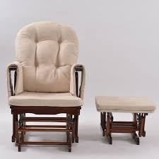 Rocking Chair Ottoman Leather Rocking Chair With Ottoman House Plan And Ottoman