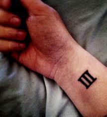 roman numeral 3 tattoo 9 best tattoos ever
