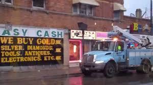 bureau d ot city of chicago dot bureau of electricity truck