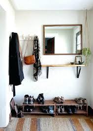 wall mirrors wall mounted coat rack shelf mirror wall mount