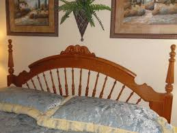 lexington victorian sampler collection king spindle headboard the