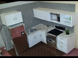 dollhouse furniture kitchen how to a kitchen fashion dolls doll