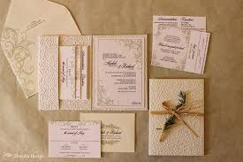 wedding invitations embossed classic garden wedding invitation zenadia design