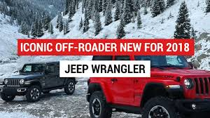 jeep off road silhouette 10 facts about the 2018 jeep wrangler autoblog