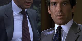 What Color Tie With Light Blue Shirt Lindy Hemming Blue And Brown For Brosnan U2013 The Suits Of James Bond