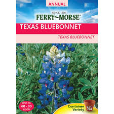 ferry morse texas bluebonnet seed 1164 the home depot