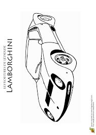 dessin à colorer d u0027une voiture de sport légendaire la