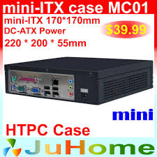 Case For Home Theater Pc by Htpc Mini Itx Case 220 220 55mm Ultra Thin Mini Case Of Home