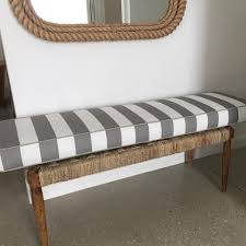 custom design bench seat chair covers cushions and ottomans