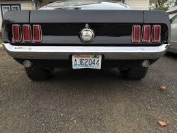 Black 1969 Mustang Fastback 1969 Ford Mustang Fastback 428cj Black 390 Cobra Jet Cj For