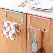 kitchen cabinet sponge holder towel rack hanging holder cupboard kitchen cabinet bathroom towel