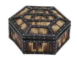 Quill Conference Table Anglo Indian Hexagonal Quill Box Avery Dash Collections