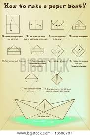 How To Make Boat From Paper - how to make a paper boat in 10 steps
