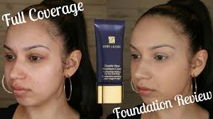 estee lauder double wear maximum cover 11 very light estée lauder double wear maximum cover foundation review wear