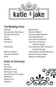 program wedding template editable one page program template calendar