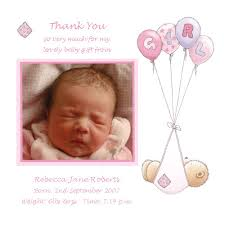 born day baby thank you cards description remarkable