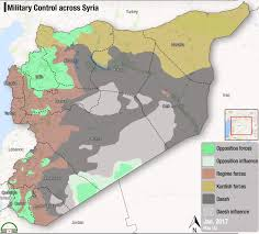 Syria Map Of Control by Fsa News On Twitter