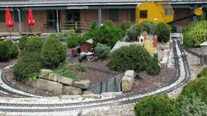 outdoor model railway trains at the b u0026o railroad museum youtube