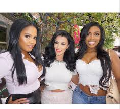 what type of hair does porsha stewart wear porsha williams real housewives of atlanta castmates are barely