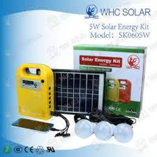 Solar Energy Lighting - china portable solar energy lighting kits with solar lamp gdlite