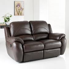 elegant leather reclining sofa home and interior