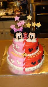 1st Birthday Halloween Cake by Mickey And Minnie Cakes Cake By Elisabeth Palatiello Cupcakes