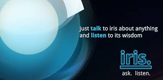 does android siri android siri alternative iris partners with chacha for info