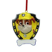 2 75 paw patrol tuffy character ornament for
