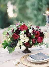 Burgundy Flowers Autumn Wedding Flowers With Burgundy Details