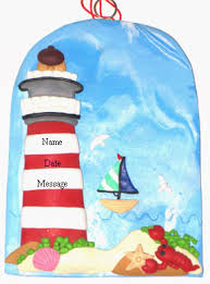 buy lighthouse ornament personalized ornament from a