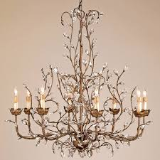and company 9884 bud eight light chandelier